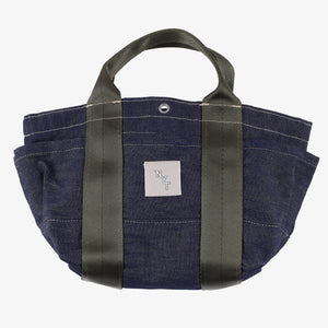 NYT T-5G mini tote / blue denim