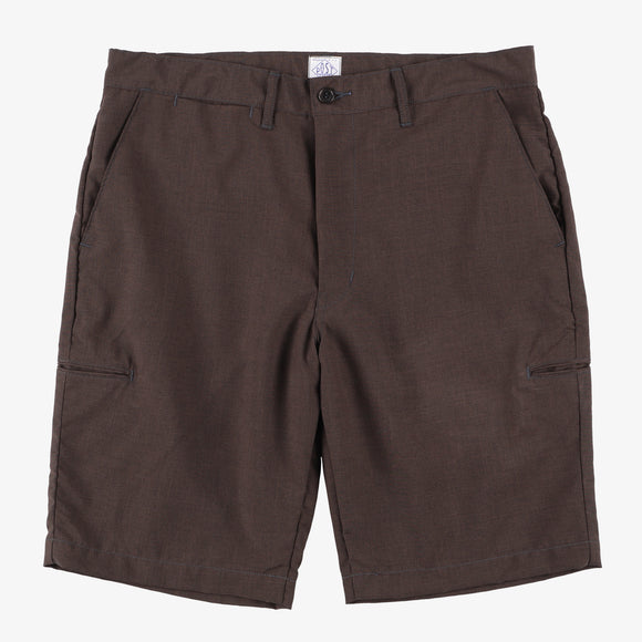 #2321S CITI-CRUZ Shorts PH2 / poly heather brown