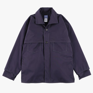 #2133 POST LOGGER / cotton poplin navy