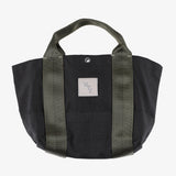 NYT T-5G mini tote / black nylon canvas