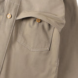 #2133 POST LOGGER / cotton ripstop khaki