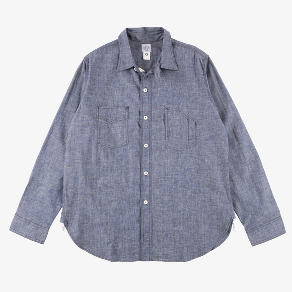 #3201 1102 Shirt 11 / chambray indigo