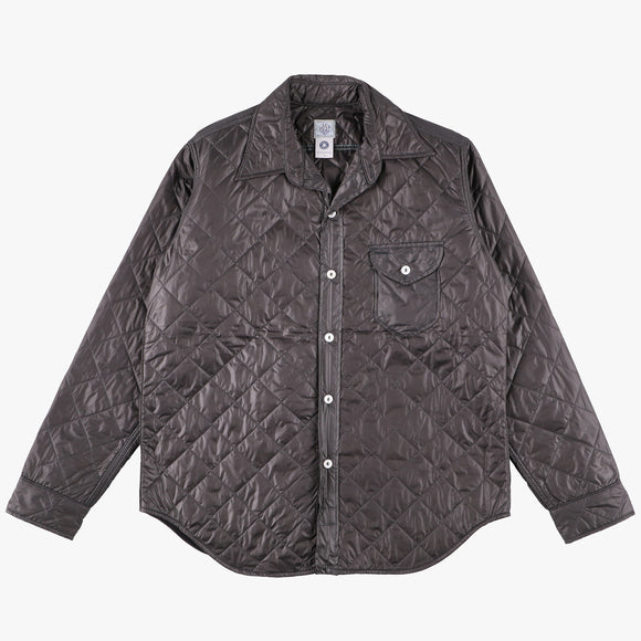 C-POST w/Thinsulate  / quilted nylon taffeta grey