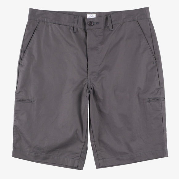 #2321S CITI-CRUZ Shorts LT2 / light twill charcoal