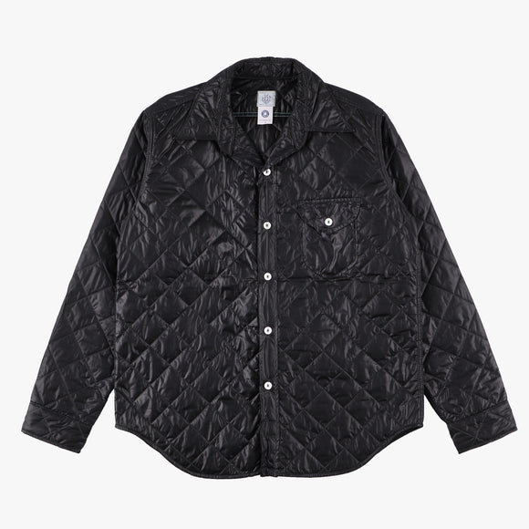 C-POST w/Thinsulate / quilted nylon taffeta black