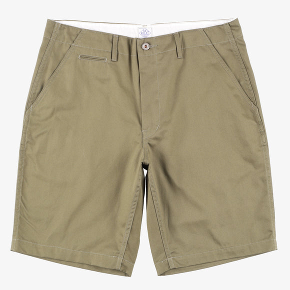 #2324S New Maker Shorts FH2 / fine herringbone olive