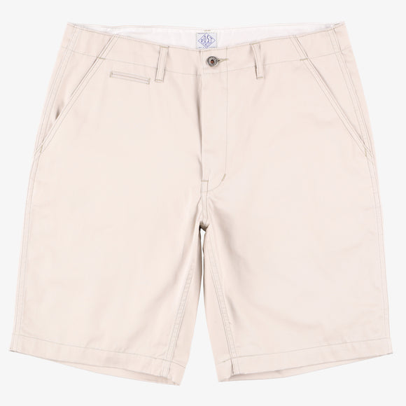 #2324S New Maker Shorts FH3 / fine herringbone khaki