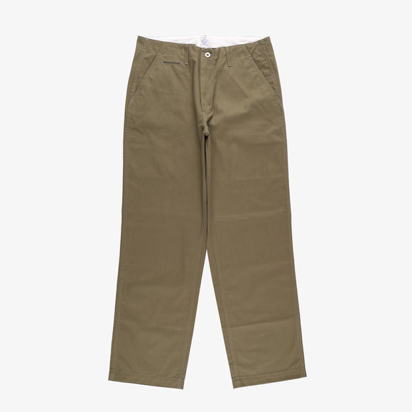 #2324 New Maker Pants FH2 / fine herringbone olive