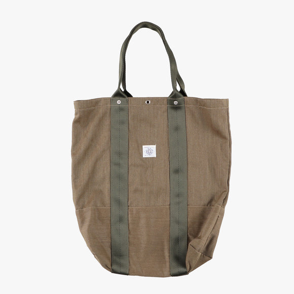 POS-TOTE / wool cavalry twill gold heather