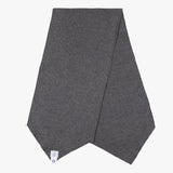 E-Z Scarf / cotton dark grey heather