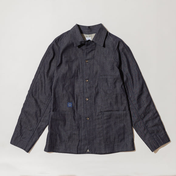 #2126RL lined POST 41-R 8D / 8oz. denim with lining indigo