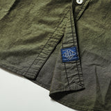 #1256 Cruzer Shirt 2 EE2 / cotton/linen end-on-end olive