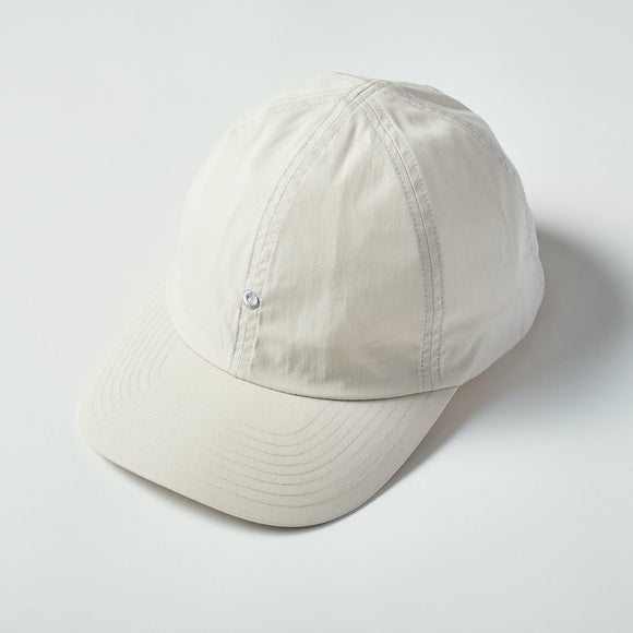 #3903 POST Ball Cap CN1 / cotton/nylon poplin stone