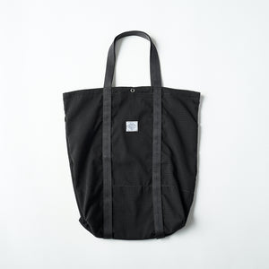#3901 POS-TOTE PS1 / poly mesh seersucker charcoal