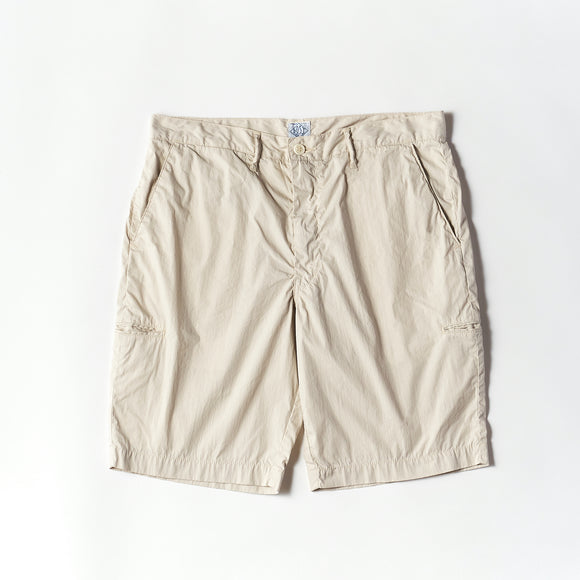 #2321S Citi - Cruz Shorts CN1 / cotton/nylon poplin stone
