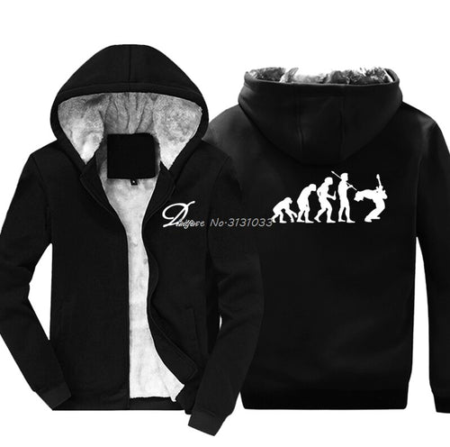 Evolution Rock Music Hoodie