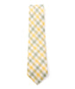 Green & Yellow Plaid Necktie - Mosaic Menswear - 3