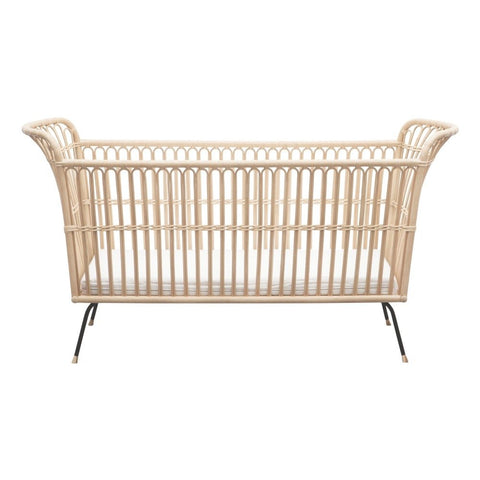 Bermbach Handcrafted |Handmade Rattan Baby Bed FREDERICK