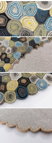 Others | Wool handmade carpet from India-Green