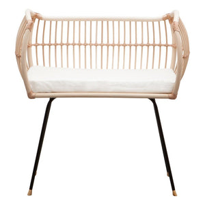 Bermbach Handcrafted |Handmade Rattan Baby Sidebed MARTHA
