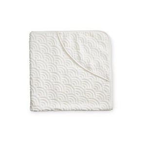 Cam Cam | Baby Towel Hooded - Off White