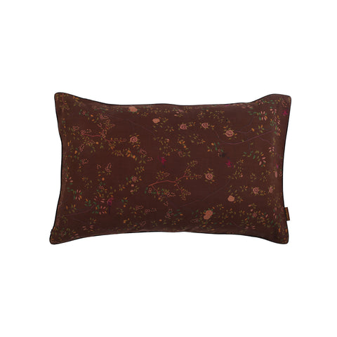Little Button | Cushion Bird Flower~Brown