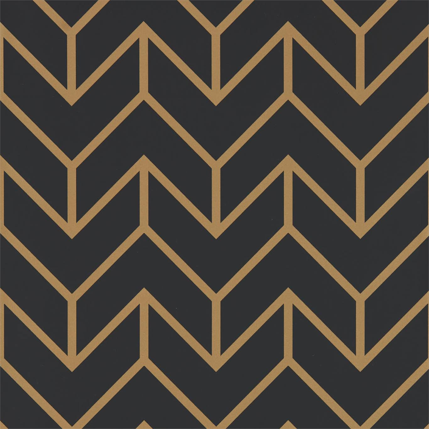 Tessellation Graphite Gold Wallpaper, Harlequin, Momentum 5, Wall to Wall Wallpaper | Contemporary Wallpaper Online NZ