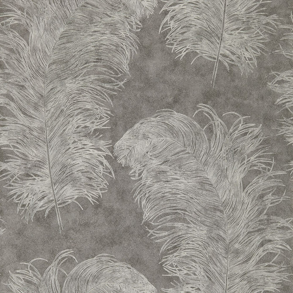 Operetta Graphite Wallpaper, Harlequin, Palmetto, Wall to Wall Wallpaper | Contemporary Wallpaper Online NZ
