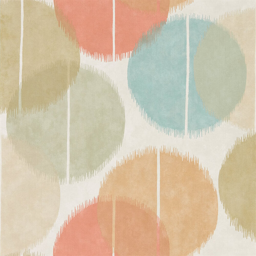 Circulo Zest Azure Wallpaper, Harlequin, Tresillo, Wall to Wall Wallpaper | Contemporary Wallpaper Online NZ