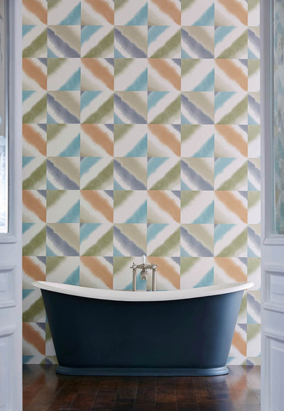 Quadro Mist Fawn Blush Wallpaper, Harlequin, Tresillo, Wall to Wall Wallpaper | Contemporary Wallpaper Online NZ