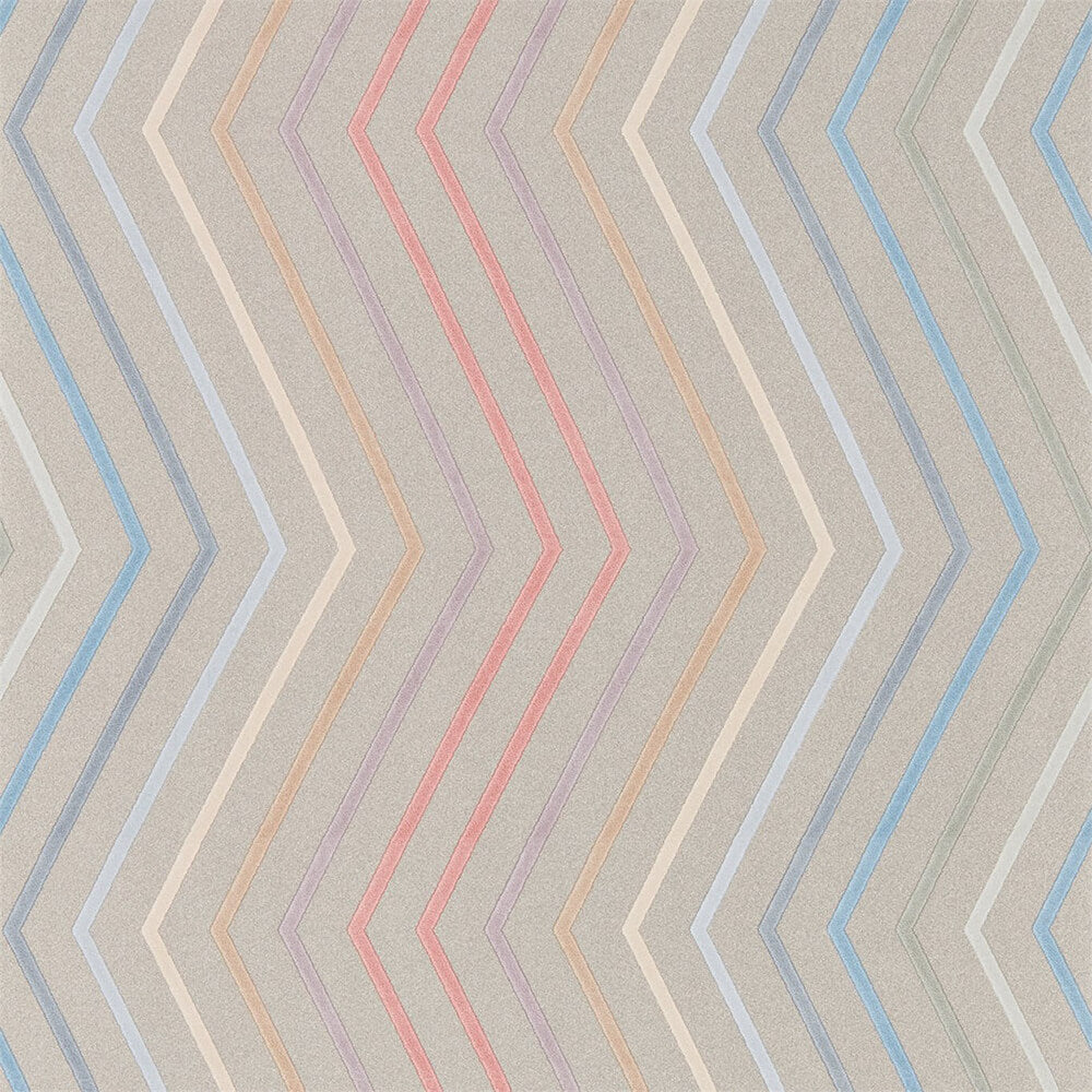 Tresillo Coral Viola Slate Wallpaper, Harlequin, Tresillo, Wall to Wall Wallpaper | Contemporary Wallpaper Online NZ