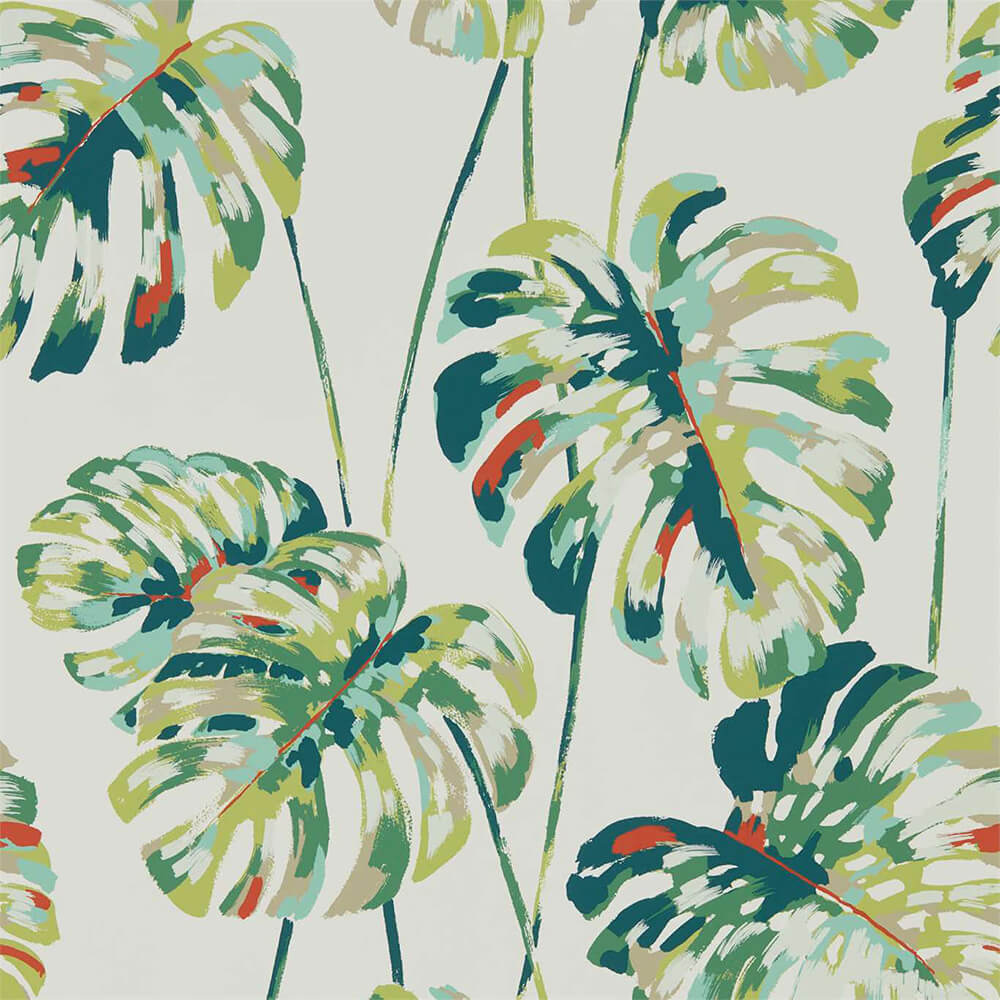 Kelapa Emerald Zest Wallpaper, Harlequin, Zapara, Wall to Wall Wallpaper | Contemporary Wallpaper Online NZ
