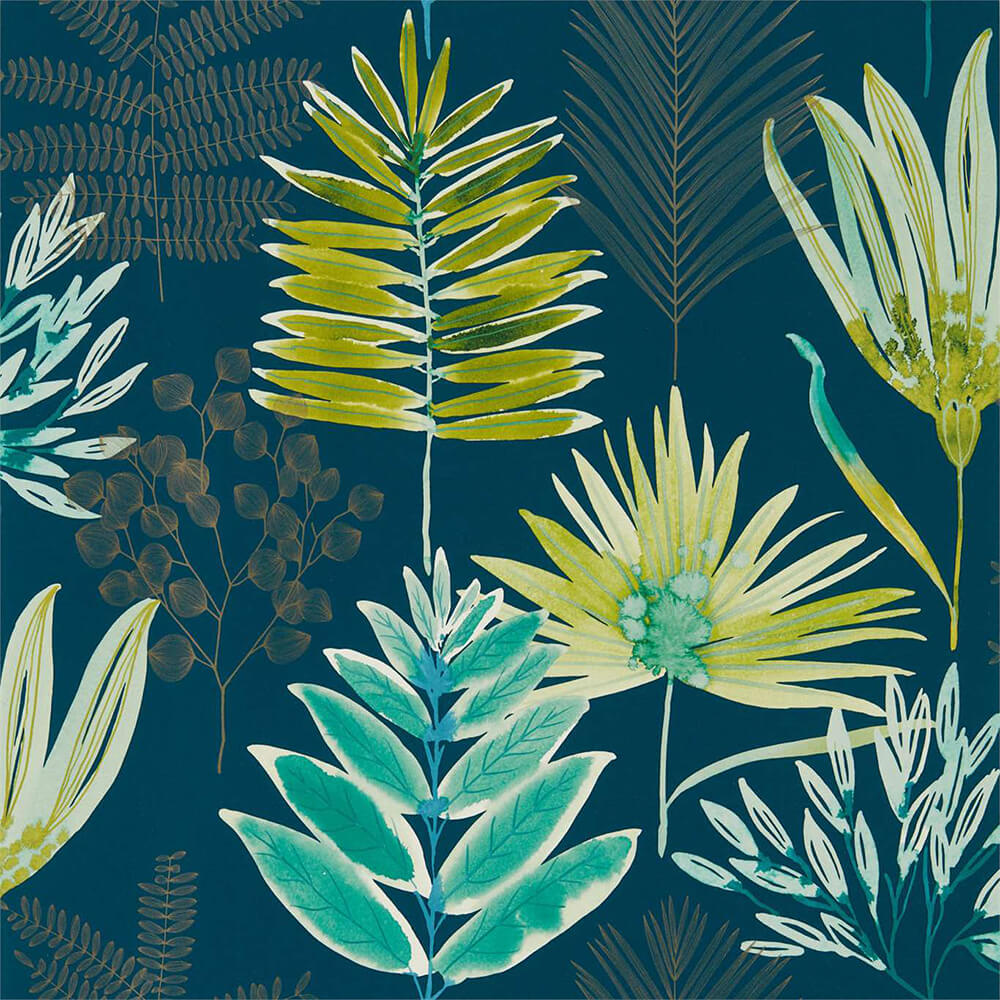 Yasuni Emerald Zest Wallpaper, Harlequin, Zapara, Wall to Wall Wallpaper | Contemporary Wallpaper Online NZ