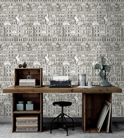 Louvre Wallpaper, Mind the Gap, Mind the Gap 2017, Wall to Wall Wallpaper | Contemporary Wallpaper Online NZ