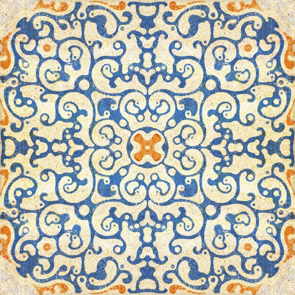 Spanish Tile Wallpaper, Mind the Gap, Mind the Gap 2017, Wall to Wall Wallpaper | Contemporary Wallpaper Online NZ