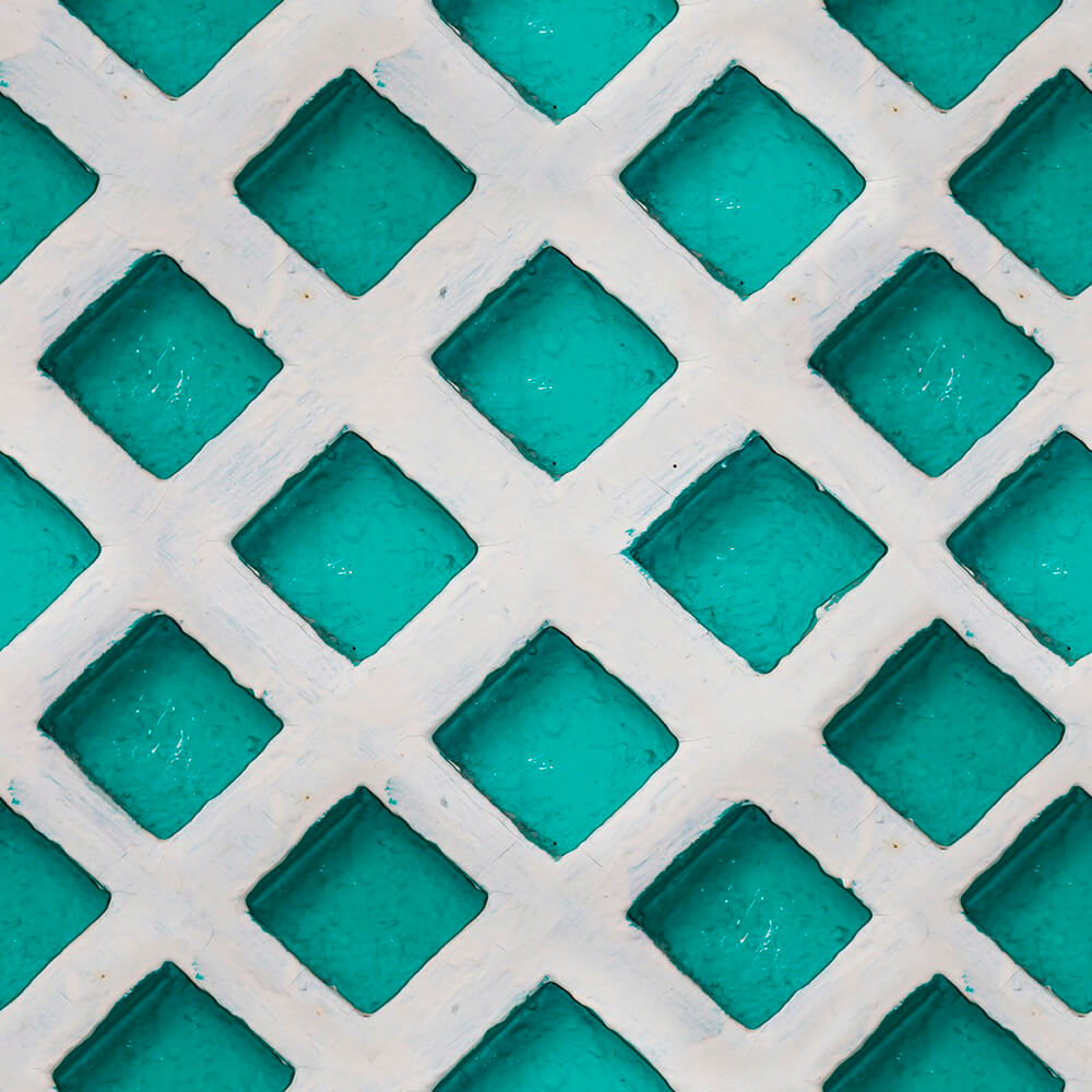 Turquoise Patch Wallpaper, Mind the Gap, Mind the Gap 2017, Wall to Wall Wallpaper | Contemporary Wallpaper Online NZ