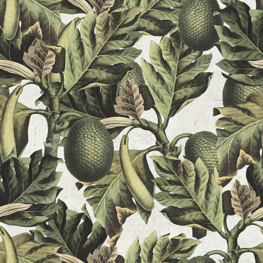 Exotic Fruit I Wallpaper, Mind the Gap, Mind the Gap 2017, Wall to Wall Wallpaper | Contemporary Wallpaper Online NZ