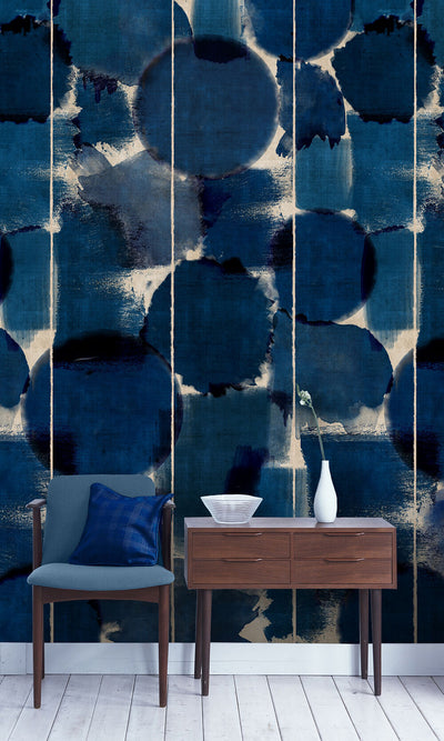 Indigo Marvel Wallpaper, Mind the Gap, Mind the Gap 2018, Wall to Wall Wallpaper | Contemporary Wallpaper Online NZ