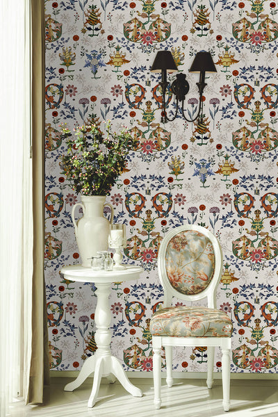 Transylvania Folk Wallpaper, Mind the Gap, Mind the Gap 2019, Wall to Wall Wallpaper | Contemporary Wallpaper Online NZ