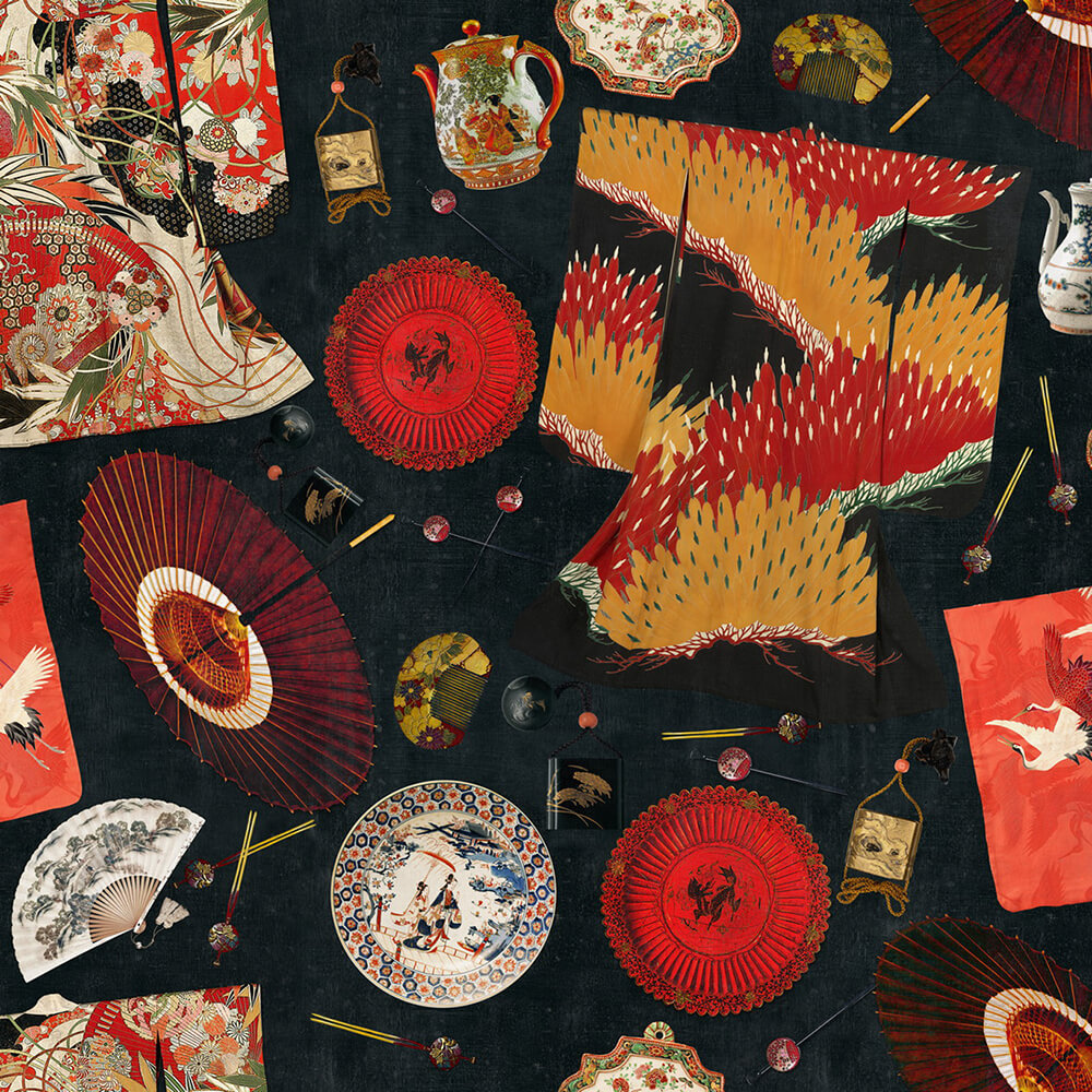 Memoirs Of A Geisha Wallpaper, Mind the Gap, Mind the Gap 2019, Wall to Wall Wallpaper | Contemporary Wallpaper Online NZ