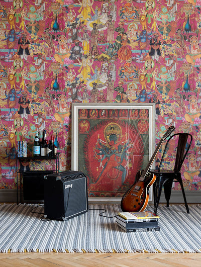 Nirvana Wallpaper, Mind the Gap, Mind the Gap 2019, Wall to Wall Wallpaper | Contemporary Wallpaper Online NZ