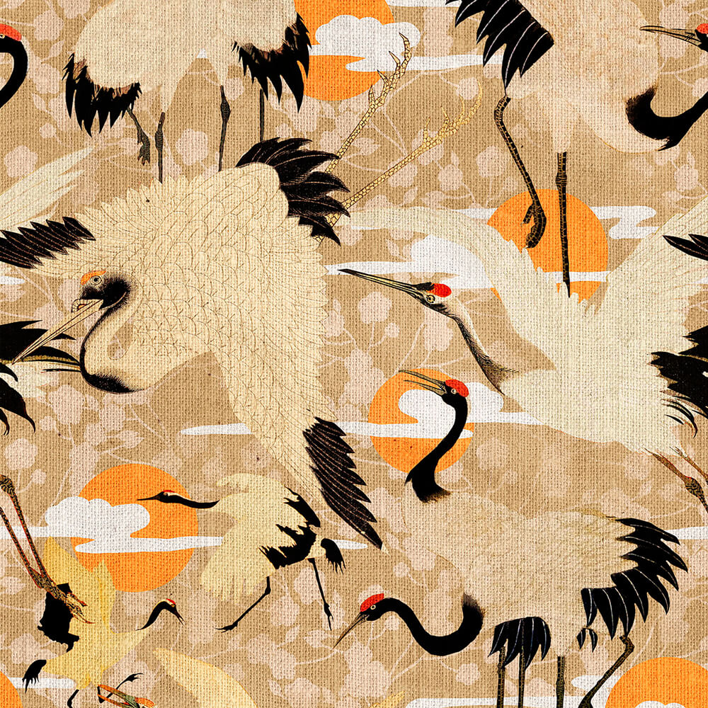 Birds Of Happiness Wallpaper, Mind the Gap, Mind the Gap 2019, Wall to Wall Wallpaper | Contemporary Wallpaper Online NZ