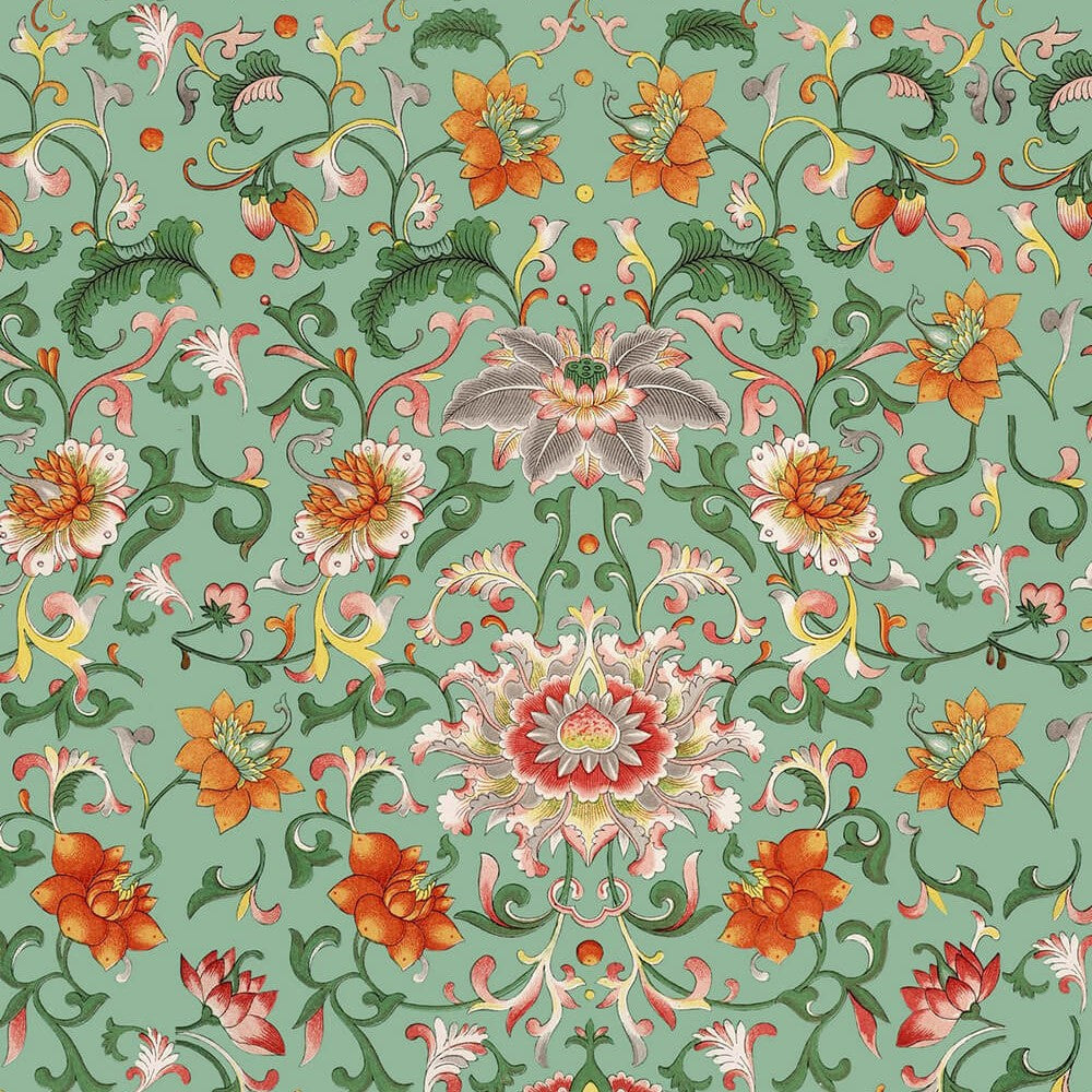 Chinese Floral Wallpaper, Mind the Gap, Mind the Gap 2017, Wall to Wall Wallpaper | Contemporary Wallpaper Online NZ