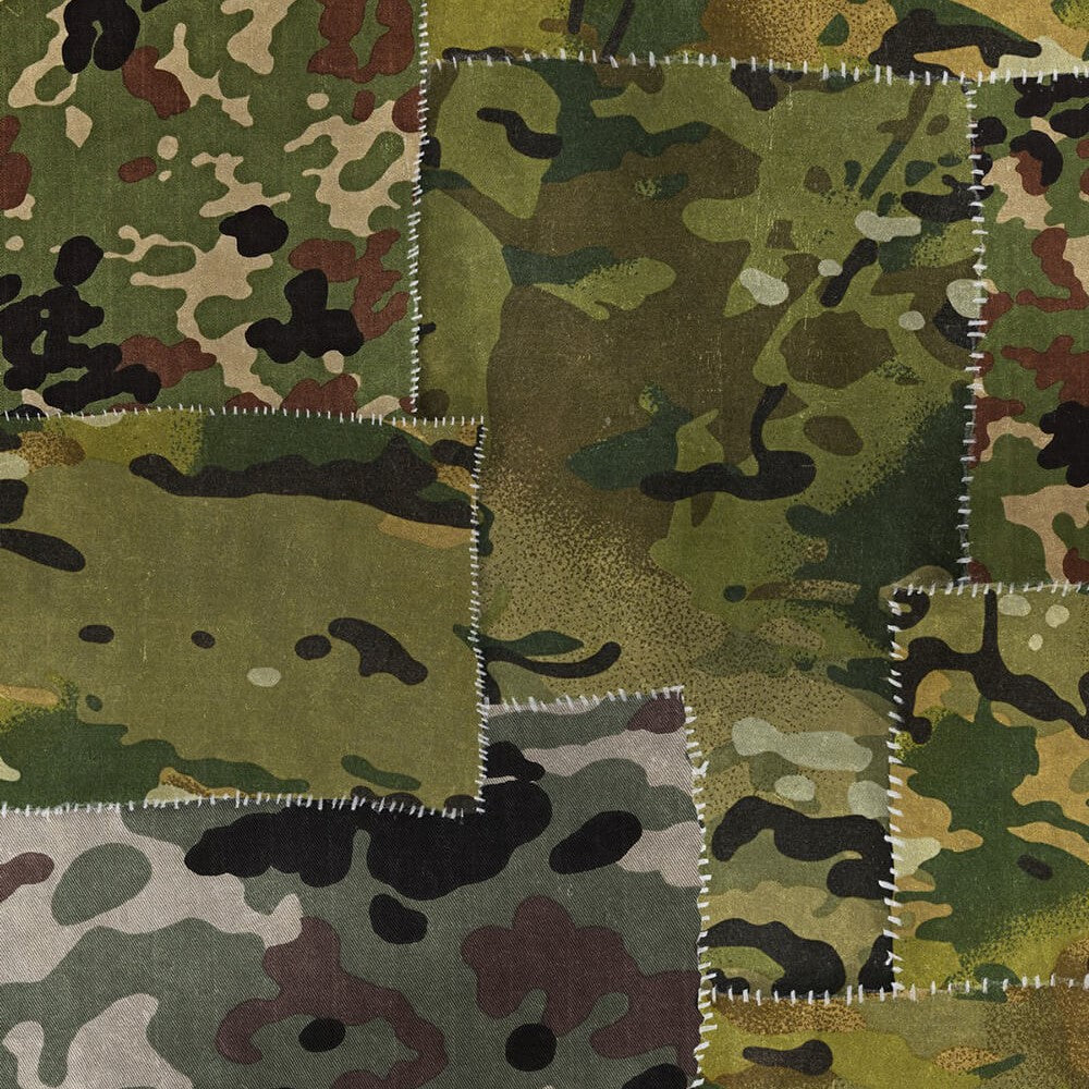 Camo Wallpaper, Mind the Gap, Mind the Gap 2018, Wall to Wall Wallpaper | Contemporary Wallpaper Online NZ