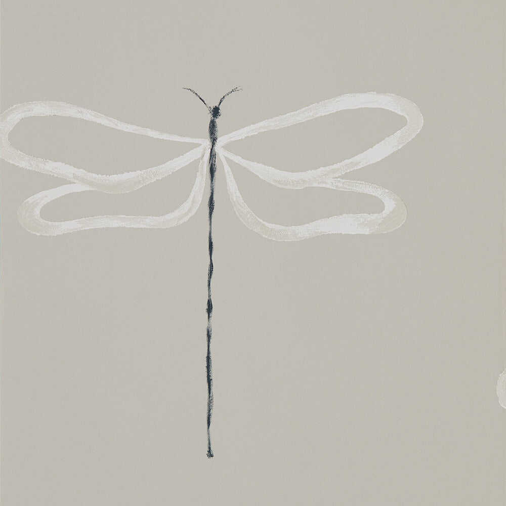 Dragonfly Parchment Wallpaper, Scion, Japandi, Wall to Wall Wallpaper | Contemporary Wallpaper Online NZ