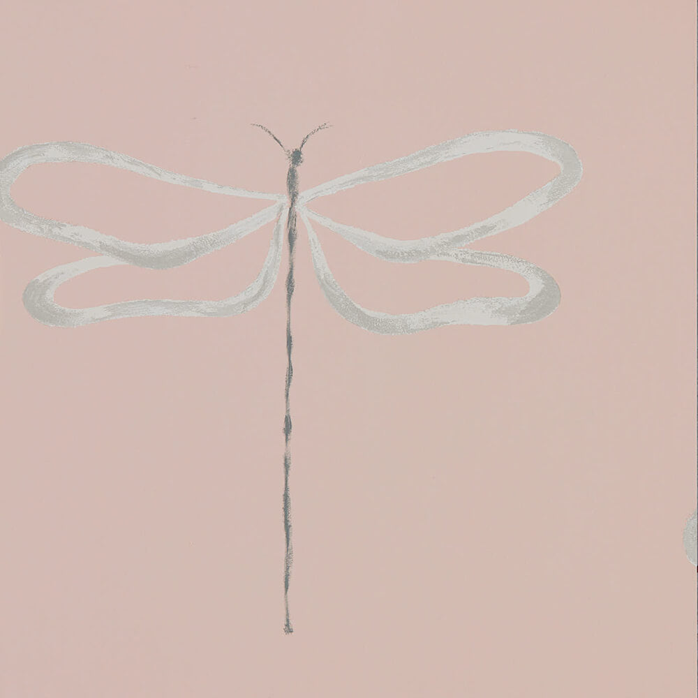 Dragonfly Rose Wallpaper, Scion, Japandi, Wall to Wall Wallpaper | Contemporary Wallpaper Online NZ