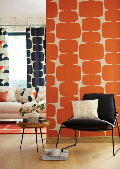 Lohko Paprika Wallpaper, Scion, Lohko, Wall to Wall Wallpaper | Contemporary Wallpaper Online NZ