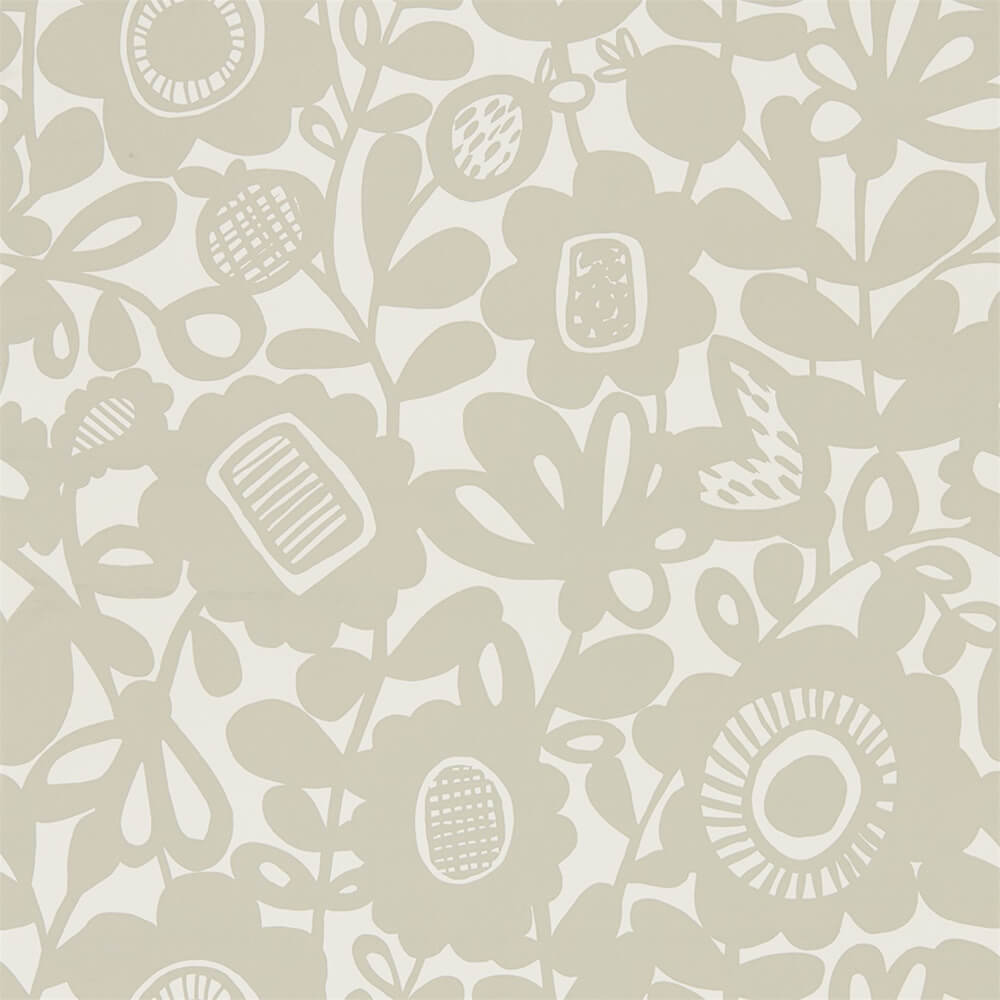 Kukkia Dove Wallpaper, Scion, Noukku, Wall to Wall Wallpaper | Contemporary Wallpaper Online NZ