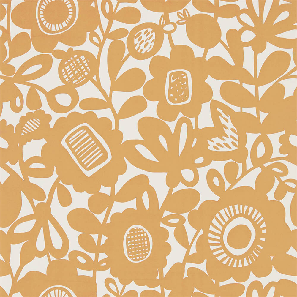 Kukkia Satsuma Wallpaper, Scion, Noukku, Wall to Wall Wallpaper | Contemporary Wallpaper Online NZ