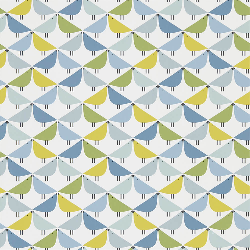 Lintu Gecko Pacific Glacier Wallpaper, Scion, Noukku, Wall to Wall Wallpaper | Contemporary Wallpaper Online NZ